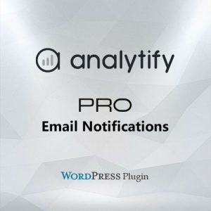 Analytify Pro Email Notifications Add-on