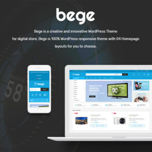 Bege ? Responsive WooCommerce WordPress Theme
