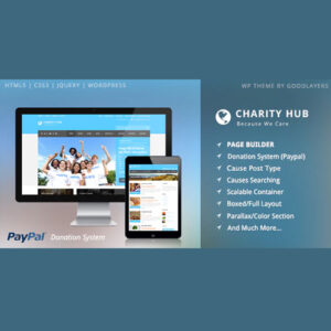 Charity Hub ? Nonprofit / Fundraising WordPress