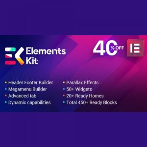 Elements Kit ? All In One Addons for Elementor Page Builder
