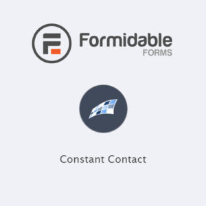Formidable Forms ? Constant Contact