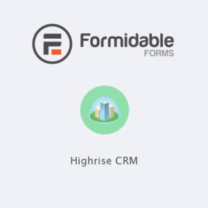 Formidable Forms ? Highrise CRM