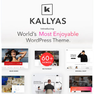 KALLYAS ? Creative eCommerce Multi-Purpose WordPress Theme