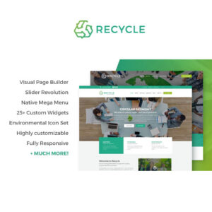 Recycle ? Environmental & Green Business WordPress Theme