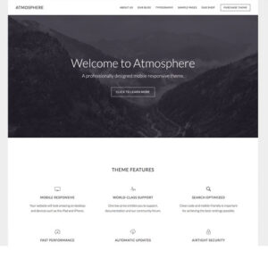 StudioPress Atmosphere Pro Genesis WordPress Theme