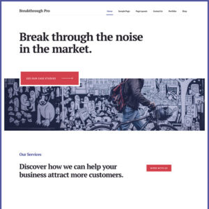 StudioPress Breakthrough Pro Genesis WordPress Theme