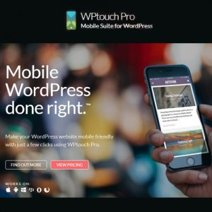 WPtouch Pro ? Mobile Suite for WordPress