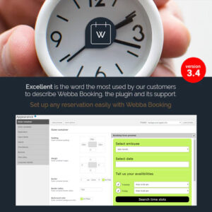 Webba Booking ? WordPress Appointment & Reservation plugin