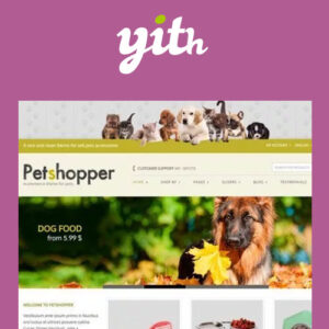 YITH Petshopper ? E-Commerce Theme for Pets Products