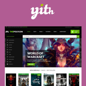 YITH The Polygon ? WordPress Theme for Video Games